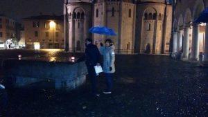 Telling in the rain